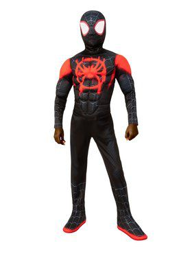 Spider - Man: Into the Spider - Verse Miles Morales Spider Man Child Costume