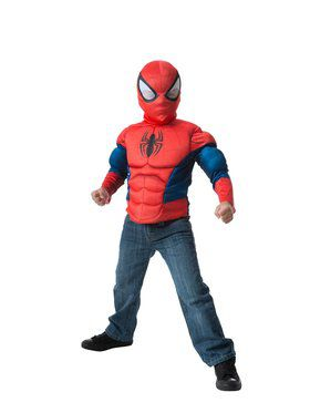 Spider-Man Muscle Chest Shirt Set