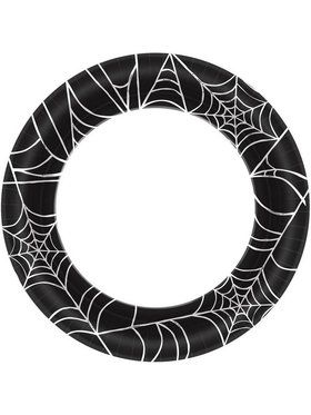 "Spider Web 10"" Plate (40)"