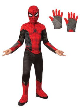 Spiderman Child Costume Kit - Red & Black