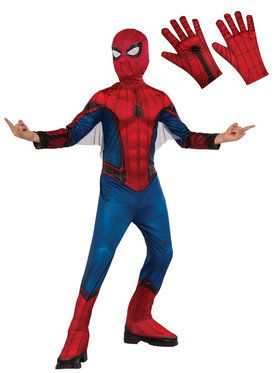 Spiderman Child Costume Kit - Red & Blue