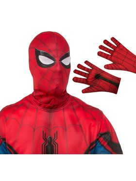 Spiderman Mask and Gloves Adult Costume Accessory Kit