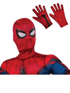 Spiderman Mask and Gloves Child Costume Accessory Kit