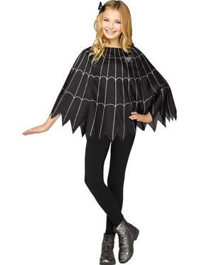 Spiderweb Child Poncho