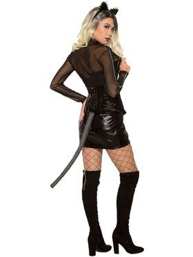 Spike & Rhinestone - Shrug Mesh Sweater Adult Costume