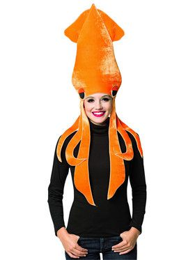 Squid Adult Costume