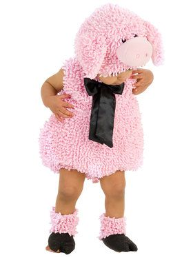 Squiggly Pig Infant / Toddler Costume 6/12 Months