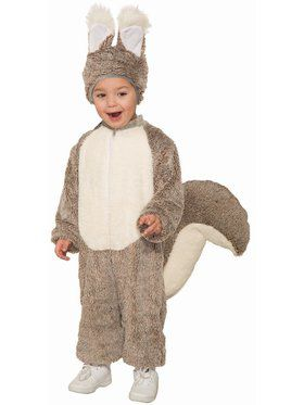 Squirrel Child Costume