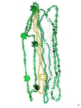 St. Patrick's Day Beads (5)
