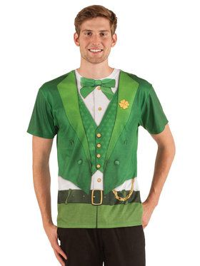 St. Patrick's Day Leprechaun Adult Shirt