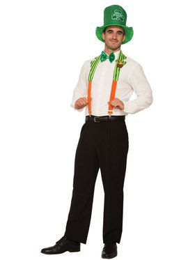 St Pat's Suspenders and Collar