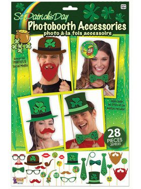 St. Pat's Photobooth Accessories