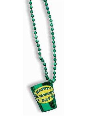 St. Pat's Shot Glass Beads