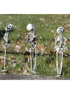 Staked Skeletons - Set Of 3