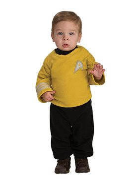 Star Trek Infant Captain Kirk Costume