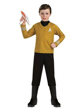 Star Trek Child's Captain Kirk Deluxe Costume