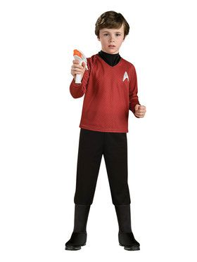 Star Trek Boys Deluxe Scotty Costume