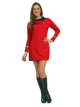 Star Trek Classic Adult Red Dress