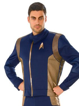 Men's Star Trek Discovery Copper Operations Top