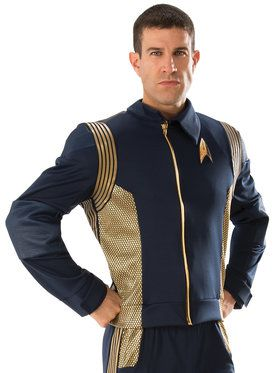 Star Trek Discovery Mens Gold Command Uniform
