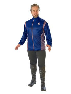Star Trek Discovery Mens Operations Costume Top