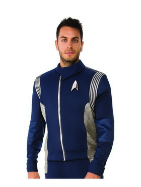 Men's Star Trek Discovery Silver Science Top