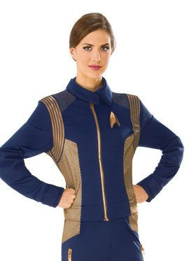 Women's Star Trek Discovery Copper Operations Top