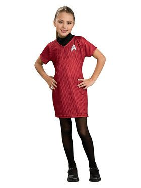 Star Trek Girls Deluxe Uhura Costume