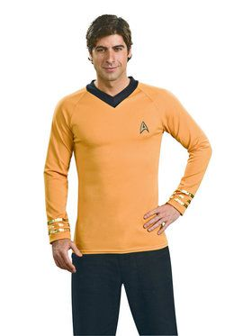 Adult Star Trek Deluxe Captain Kirk Costume