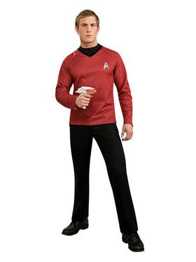 Red Shirt Men's Costume