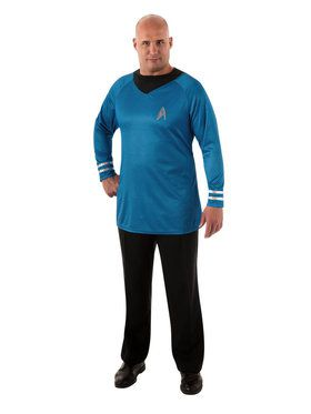 Star Trek Mens Deluxe Spock Plus Costume