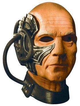 Star Trek Locutus Overhead Mens 2018 Halloween Masks