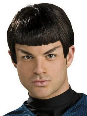 Star Trek Mens Spock Adult Wig