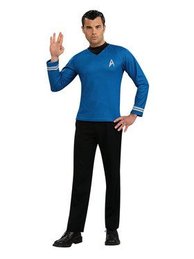 Blue Shirt Men's Costume