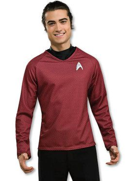 Star Trek Movie Grand Heritage Red Shirt Adult Costume