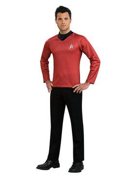 Star Trek Movie - Red Shirt Adult Costume