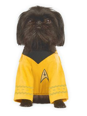 Star Trek Pet Captain Kirk Costume