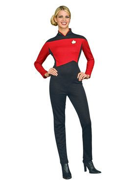 Star Trek Womens Deluxe Command Unif Costume