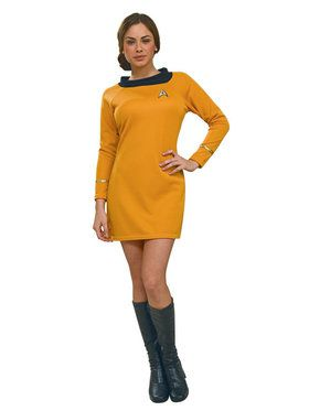 Star Trek Womens Deluxe Command Uniform Costume