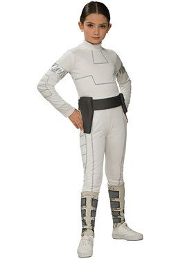 Star Wars Animated Padme Child Costume Large
