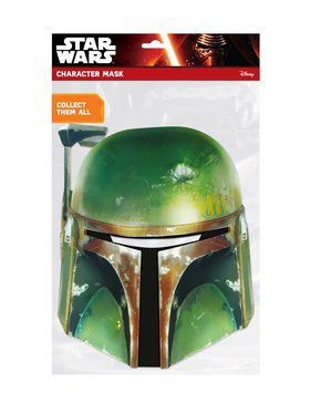 Boba Fett Star Wars Face 2018 Halloween Masks