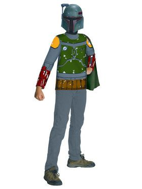 Kids Boba Fett Bounty Hunter Costume Shirt
