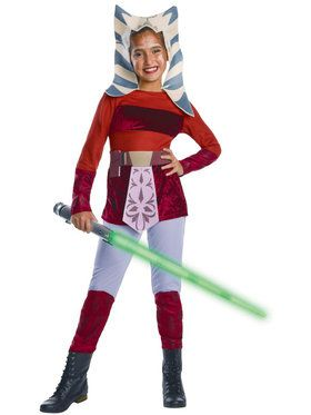 Star Wars The Clone Wars Kid's Deluxe Ahsoka Costume