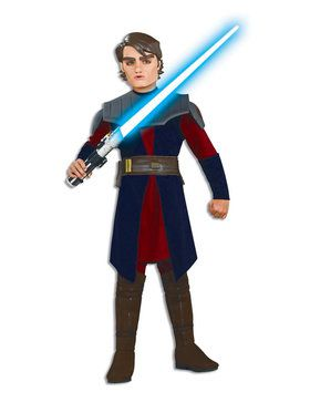 Star Wars The Clone Wars Kid's Deluxe Anakin Skywalker Costume