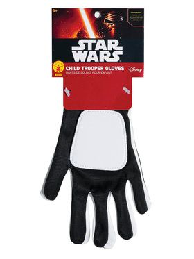 Star Wars Boys Trooper Gloves