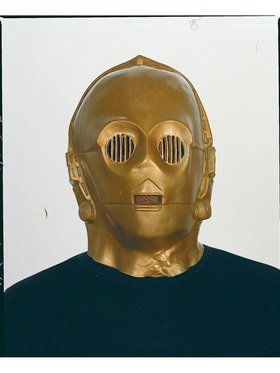 Star Wars C-3PO Deluxe 2018 Halloween Masks