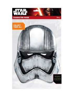 Captain Phasma Star Wars Face 2018 Halloween Masks
