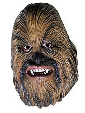 Childrens Chewbacca 3/4Vinyl 2018 Halloween Masks