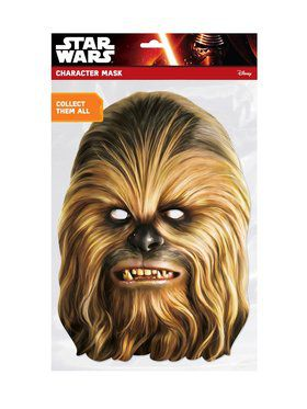 Chewbacca Star Wars Face 2018 Halloween Masks