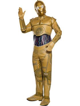Rebel Collection: Star Wars Classic C-3PO Adult Costume for Men